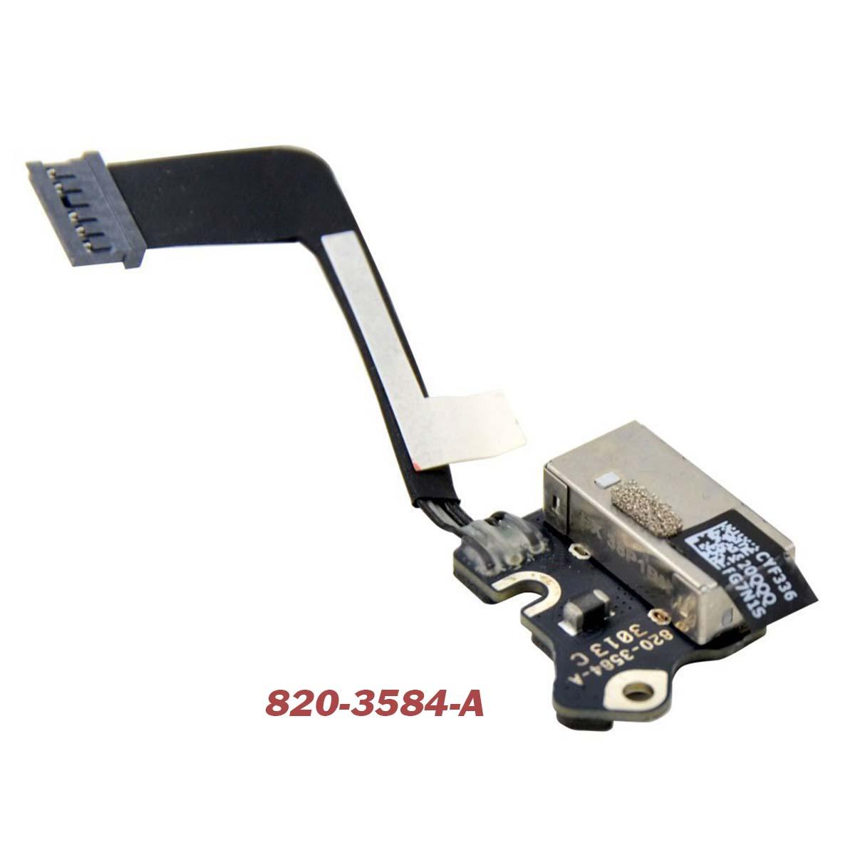 "820-3584-A DC Jack for A1502 MacBook Pro 13"" Retina"