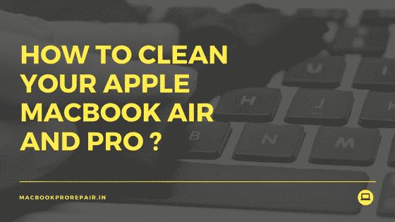 how do i clean my macbook