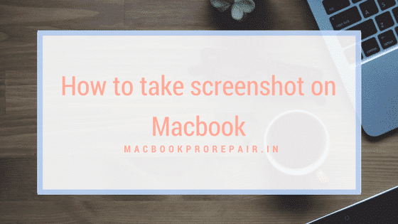 take screenshot on macbook