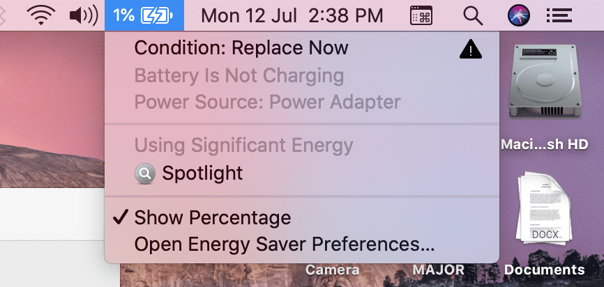 Replace MacBook Battery